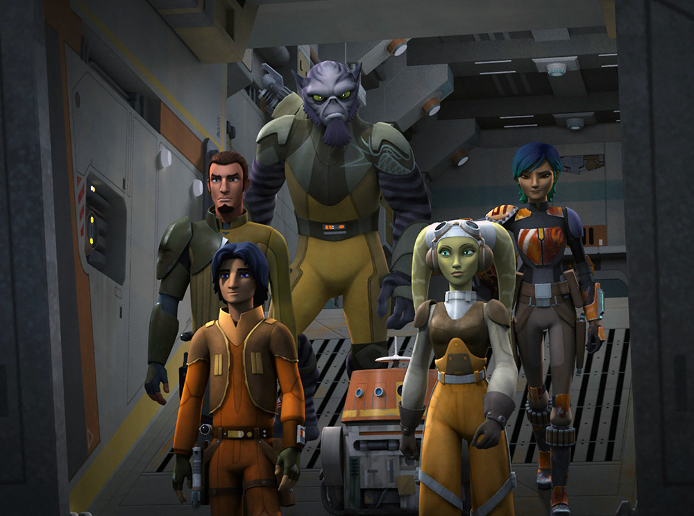 Star Wars Rebels: Complete Season Three Blu-ray
