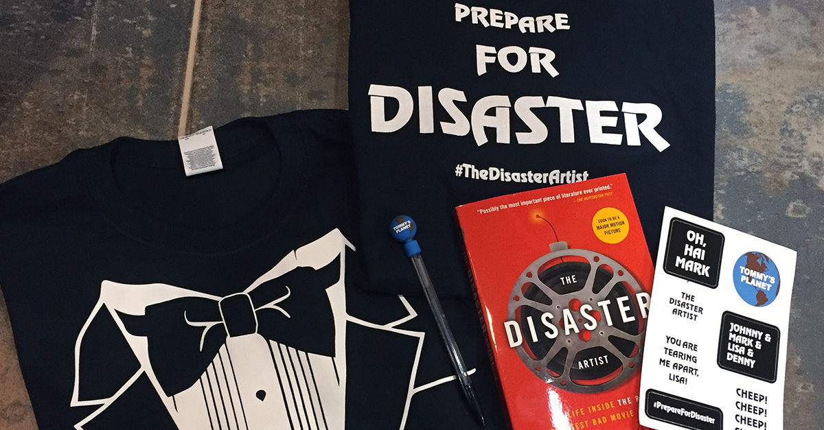 The Disaster Artist giveaway